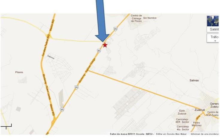 Foto de terreno comercial en venta en carretera a laredo 23, ciénega de flores centro, ciénega de flores, nuevo león, 1222245 no 01