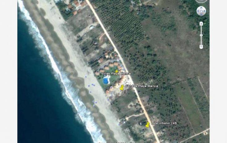 Foto de terreno habitacional en venta en carretera a playa blanca, aeropuerto, zihuatanejo de azueta, guerrero, 1647836 no 02