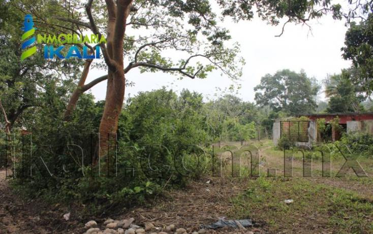 Foto de terreno habitacional en venta en carretera a tamiahua km 4, infonavit puerto pesquero, tuxpan, veracruz, 765743 no 02