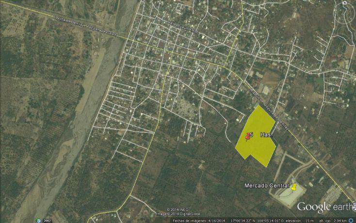 Foto de terreno habitacional en venta en carretera acapulco zihuatanejo, coyuca de benítez centro, coyuca de benítez, guerrero, 1701172 no 02