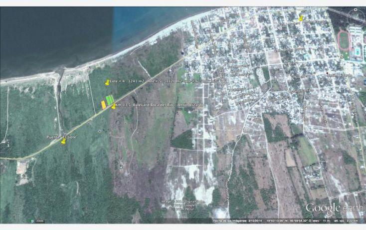 Foto de terreno comercial en venta en carretera anton lizardoboca del rio, anton lizardo, alvarado, veracruz, 2046884 no 03