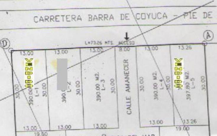 Foto de terreno habitacional en venta en carretera barra de coyuca 4, los mangos, acapulco de juárez, guerrero, 1782156 no 08