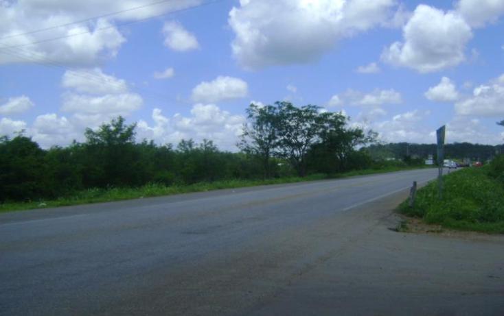 Foto de terreno comercial en venta en carretera camp-merida km59, san pedro, tenabo, campeche, 1388127 No. 02