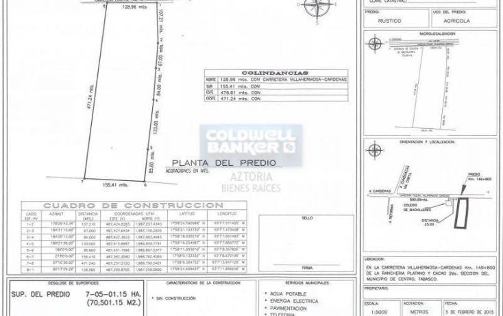 Foto de terreno industrial en venta en carretera cárdenas a villahermosa, carlos a madrazo, centro, tabasco, 1985586 no 08