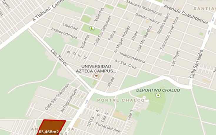 Foto de terreno habitacional en venta en carretera chalco mixquic sn, marco antonio sosa, chimalhuacán, estado de méxico, 1037209 no 01