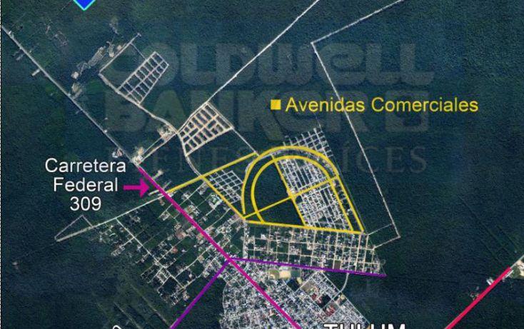 Foto de terreno habitacional en venta en carretera coba, villas tulum, tulum, quintana roo, 328853 no 02