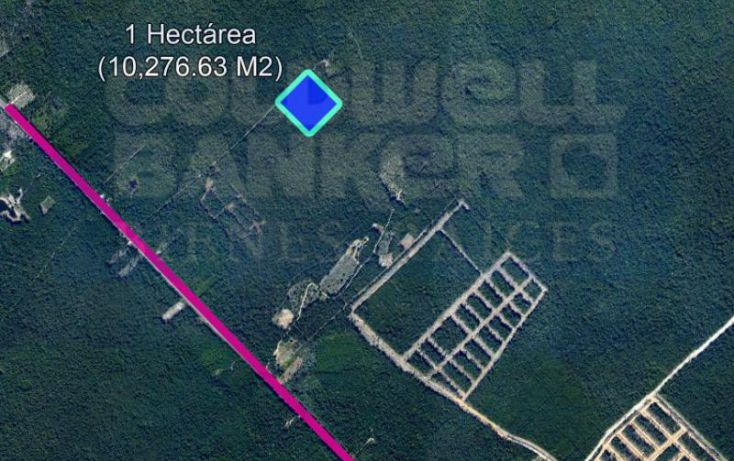 Foto de terreno habitacional en venta en carretera coba, villas tulum, tulum, quintana roo, 328853 no 03
