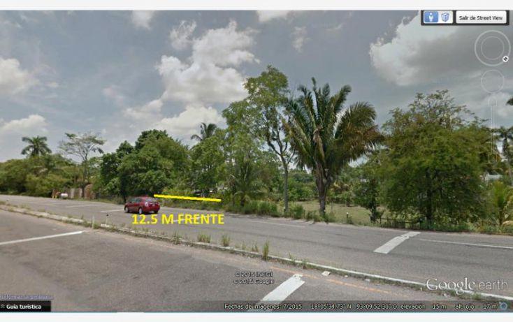 Foto de terreno habitacional en venta en carretera federal a puerto dos bocas 4, huacapa y amestoy, cunduacán, tabasco, 1342585 no 03
