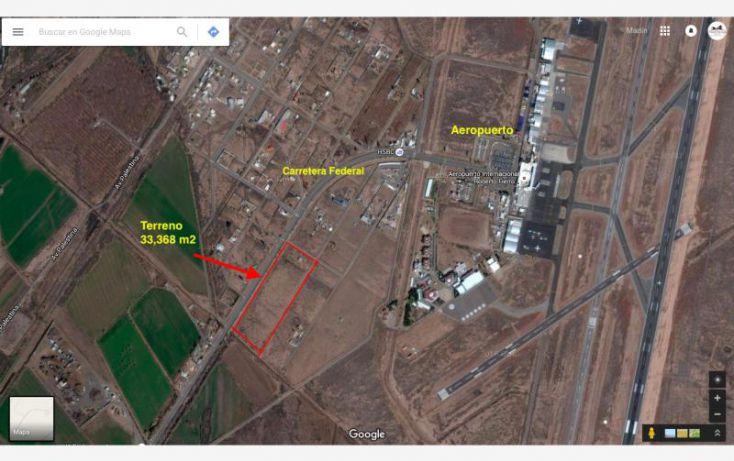 Foto de terreno comercial en venta en carretera federal al aeropuerto, aeropuerto, matamoros, chihuahua, 1934658 no 01