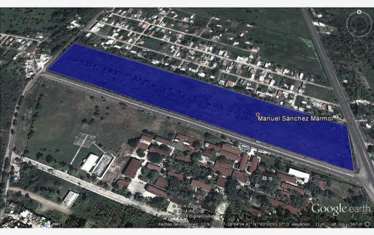 Foto de terreno industrial en renta en carretera federal, comalcalco cunduacan, a un costado de ujat 6, manuel sanchez mármol, cunduacán, tabasco, 471551 no 02