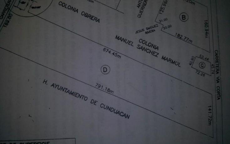 Foto de terreno industrial en renta en carretera federal, comalcalco cunduacan, a un costado de ujat 6, manuel sanchez mármol, cunduacán, tabasco, 471551 no 04