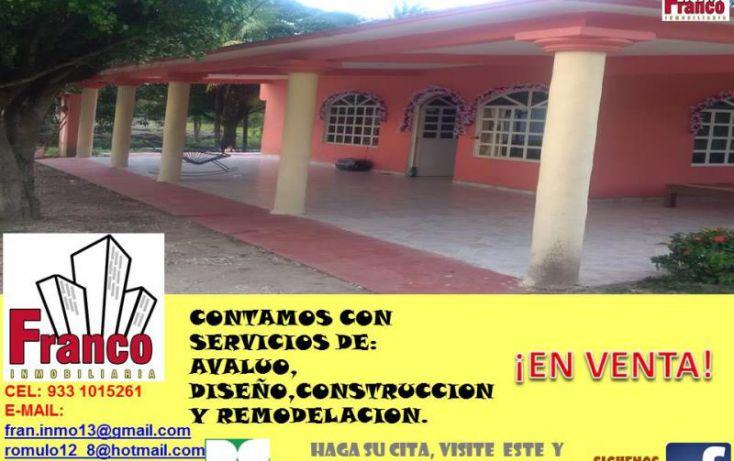 Foto de casa en venta en carretera federal comalcalcoparaiso, cap reyes hernandez 2a secc, comalcalco, tabasco, 1606518 no 03