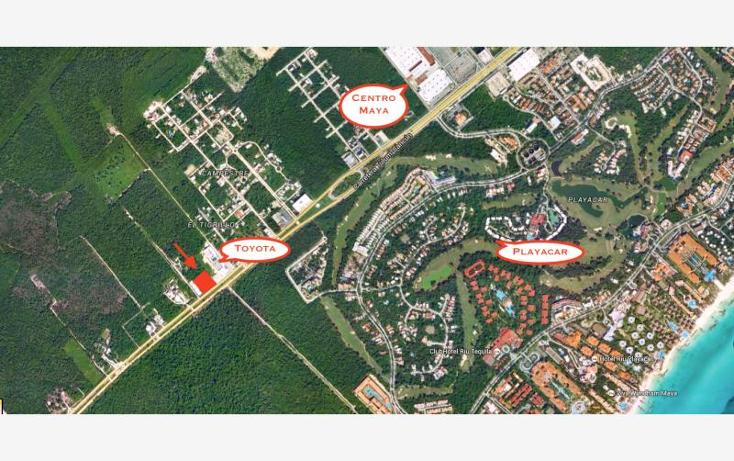 Foto de terreno comercial en venta en carretera federal emls122, el tigrillo, solidaridad, quintana roo, 724887 No. 01