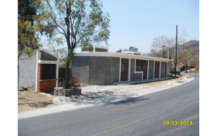 Foto de casa en venta en carretera federal km55, santiago tepetlapa, tepoztlán, morelos, 493622 no 01
