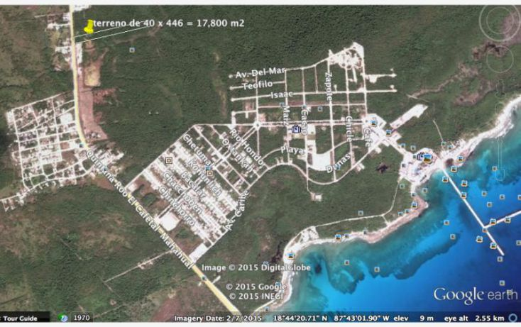 Foto de terreno comercial en venta en carretera federal, kuchumatán, bacalar, quintana roo, 1564006 no 02