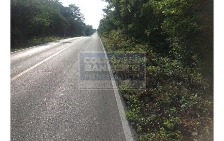Foto de terreno habitacional en venta en carretera federal merida valladolid chichen itza , yucatan , quintana roo mexico, cancún centro, benito juárez, quintana roo, 682321 no 12