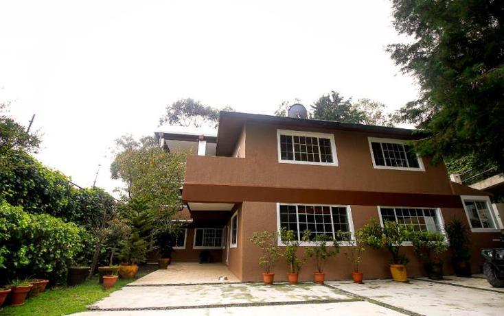 Foto de casa en venta en carretera federal mexico- cuernavaca 0, san andrés totoltepec, tlalpan, distrito federal, 790157 No. 01