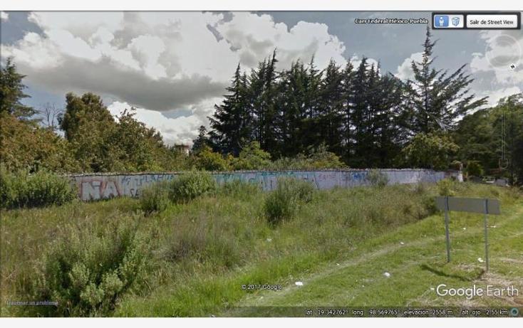 Foto de terreno habitacional en venta en carretera federal mexico-puebla kilometro 56, santa rita tlahuapan, tlahuapan, puebla, 656445 No. 01
