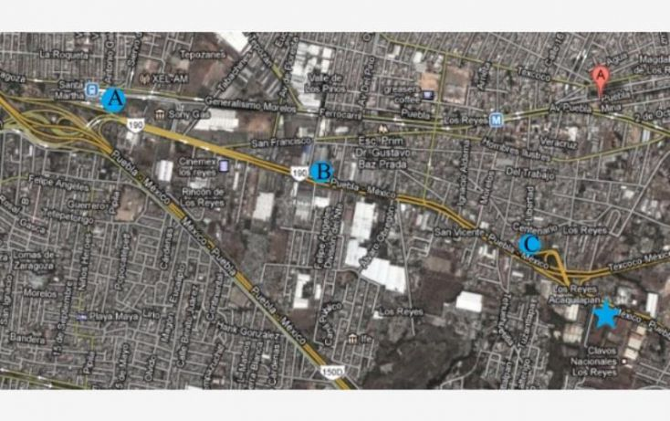 Foto de terreno comercial en venta en carretera federal mexicopuebla, los reyes acaquilpan centro, la paz, estado de méxico, 1542878 no 01