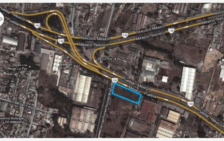 Foto de terreno comercial en venta en carretera federal mexicopuebla, los reyes acaquilpan centro, la paz, estado de méxico, 1542878 no 02