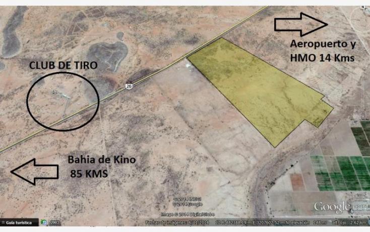 Foto de terreno habitacional en venta en carretera hermosillo bahia de kino  km14, artesanos, hermosillo, sonora, 840099 no 03