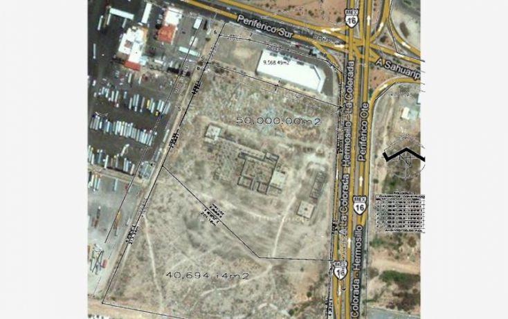 Foto de terreno industrial en venta en carretera hermosillola colorada, perisur, hermosillo, sonora, 1168485 no 01