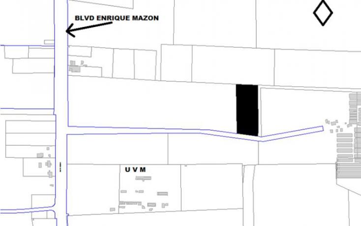 Foto de terreno comercial en venta en carretera hermosillonogales, a un costado de la universidad del valle de meico, campestre los tabachines, hermosillo, sonora, 839193 no 02