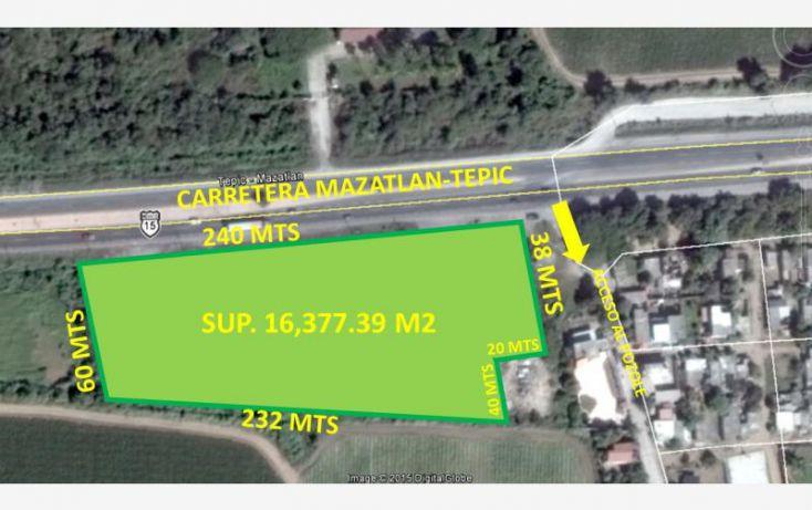 Foto de terreno comercial en venta en carretera internacional meico 15, el pescador, mazatlán, sinaloa, 1584992 no 01