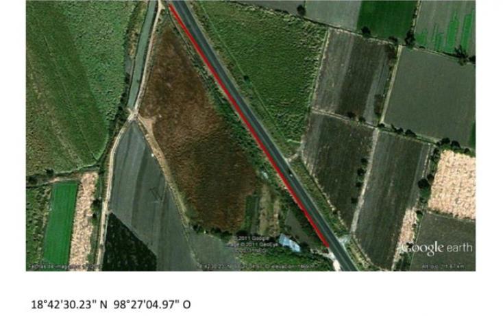 Foto de terreno comercial en venta en carretera izucar de matamoros, tepeojuma, tepeojuma, puebla, 818189 no 01