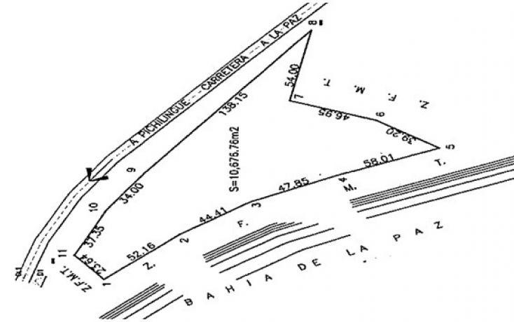 Foto de terreno habitacional en venta en carretera la pazpichilingue km 11, lomas de palmira, la paz, baja california sur, 1322807 no 02