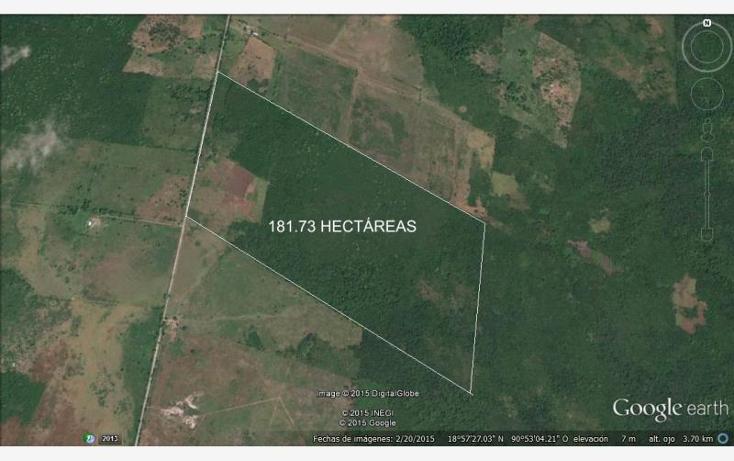 Foto de rancho en venta en carretera ley de reforma a ignacio gutierrez 1, ley federal de la reforma agraria, champotón, campeche, 1493153 No. 02