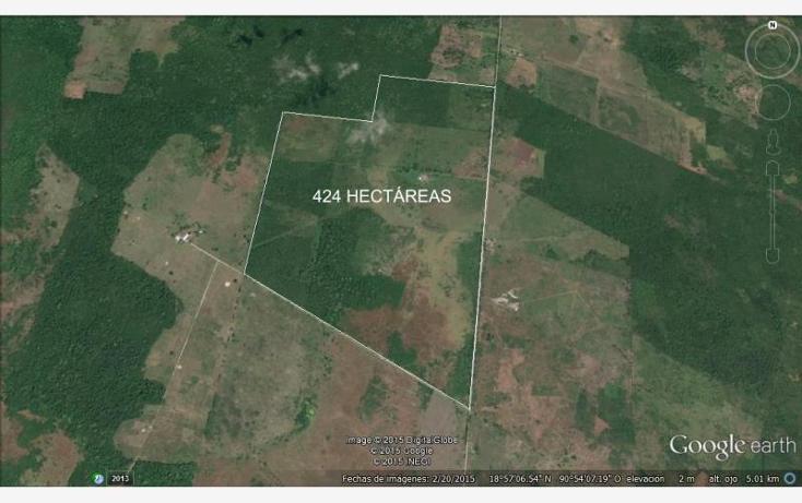 Foto de rancho en venta en carretera ley de reforma a ignacio gutierrez 1, ley federal de la reforma agraria, champotón, campeche, 1493153 No. 03