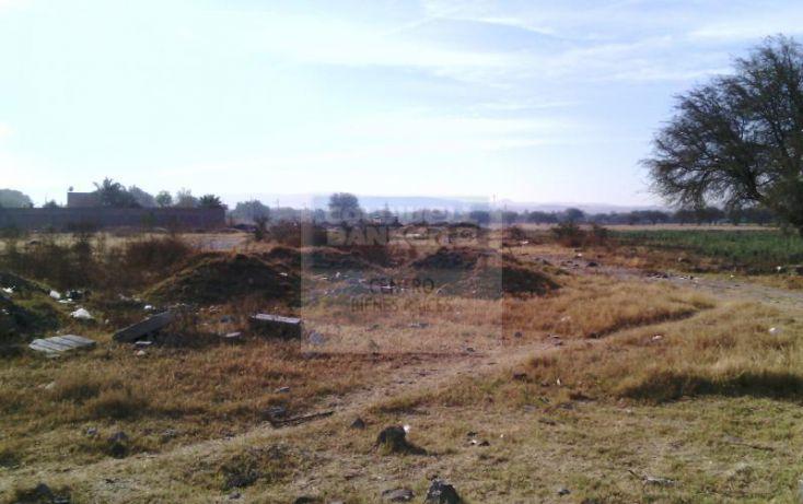 Foto de terreno habitacional en venta en carretera libre a celaya, san isidro del llanito, apaseo el alto, guanajuato, 784995 no 01