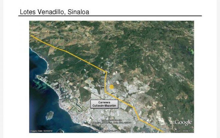 Foto de terreno habitacional en venta en carretera libre a culiacan 983, el venadillo, mazatlán, sinaloa, 1009979 no 01