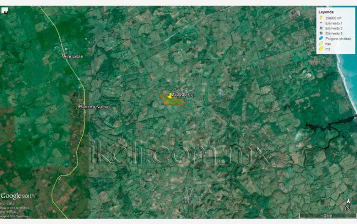 Foto de terreno habitacional en venta en carretera los kilometros, desviándose hacia el mar en rancho nuevo, higo de la esperanza, tuxpan, veracruz, 1669154 no 13