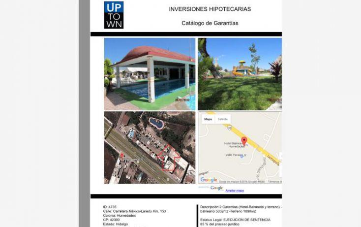 Foto de terreno comercial en venta en carretera méico laredo, humedades, ixmiquilpan, hidalgo, 1594016 no 01