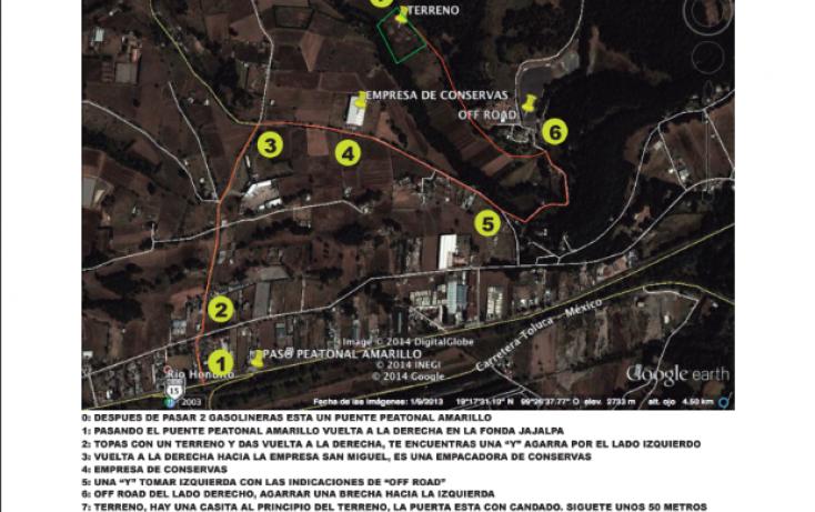 Foto de terreno habitacional en venta en carretera méxicotoluca, san miguel ameyalco, lerma, estado de méxico, 87235 no 06