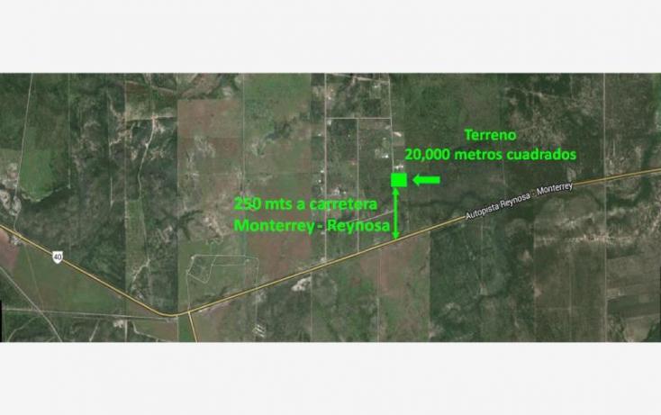 Foto de terreno habitacional en venta en carretera monterrey a reynosa km 49, san juan, cadereyta jiménez, nuevo león, 825285 no 01