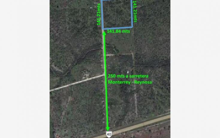 Foto de terreno habitacional en venta en carretera monterrey a reynosa km 49, san juan, cadereyta jiménez, nuevo león, 825285 no 02