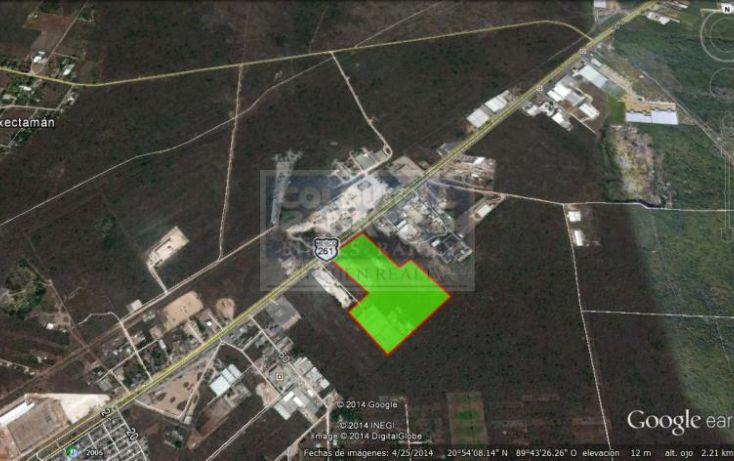 Foto de terreno habitacional en venta en carretera mrida umn, uman, umán, yucatán, 1754462 no 03