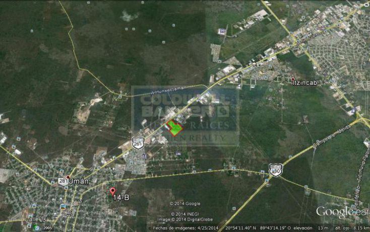 Foto de terreno habitacional en venta en carretera mrida umn, uman, umán, yucatán, 1754462 no 04