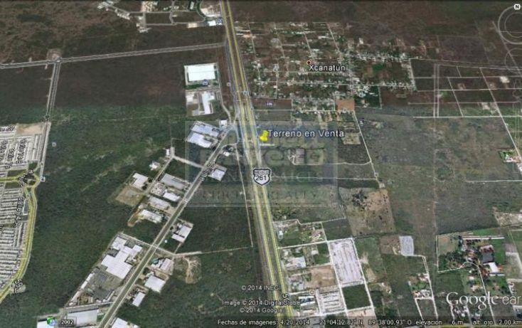 Foto de terreno habitacional en venta en carretera mridaprogreso, chablekal, mérida, yucatán, 1754382 no 02
