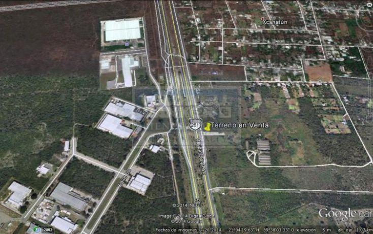 Foto de terreno habitacional en venta en carretera mridaprogreso, chablekal, mérida, yucatán, 1754382 no 03