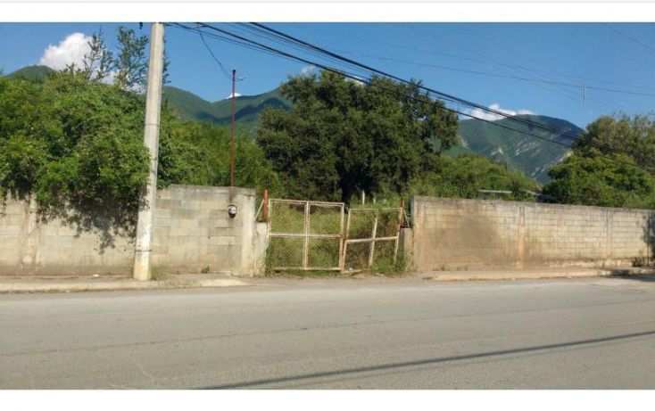 Foto de terreno habitacional en venta en carretera nacional 000, san gabriel, monterrey, nuevo león, 1424891 no 01