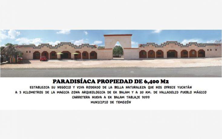 Foto de rancho en venta en carretera nueva a ekbalam 9099, temozon, temozón, yucatán, 1361497 no 01