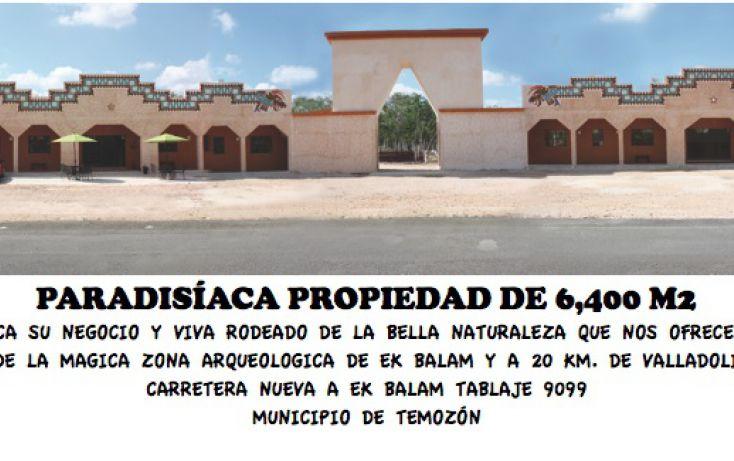 Foto de local en venta en carretera nueva a ekbalam, temozon, peto, yucatán, 1719450 no 01