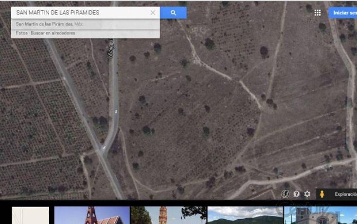 Foto de terreno habitacional en venta en carretera palapa predio san diego 0 2, san martín de las pirámides, san martín de las pirámides, estado de méxico, 1707234 no 01