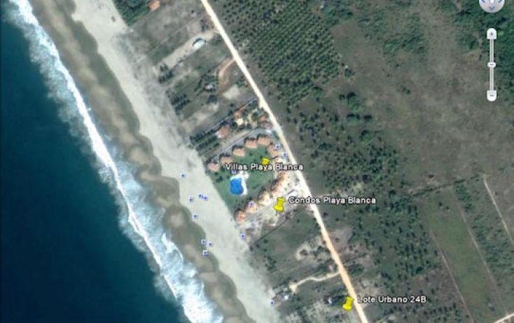 Foto de terreno habitacional en venta en carretera playa blanca, aeropuerto, zihuatanejo de azueta, guerrero, 1638793 no 02