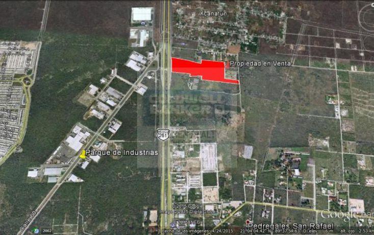 Foto de terreno habitacional en venta en carretera progreso, xcanatún, mérida, yucatán, 1754634 no 03