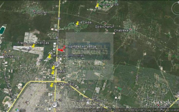 Foto de terreno habitacional en venta en carretera progreso, xcanatún, mérida, yucatán, 1754634 no 04